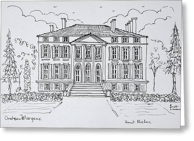 Empire Style Architecture Greeting Card