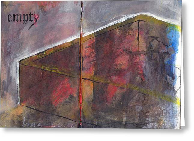 Empty Greeting Card by Chad Brown