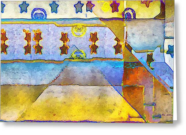 Empty Stage Greeting Card by RC deWinter