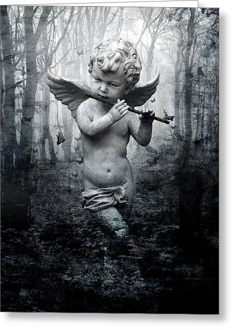 Enchant Greeting Card by Marc Huebner