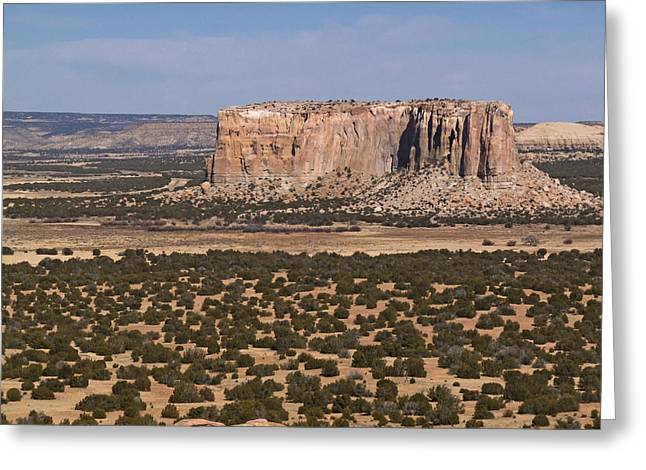 Enchanted Mesa Greeting Card by Jennifer Nelson