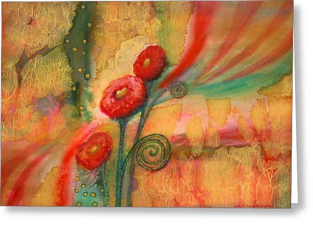 Enchantment Greeting Card by Lynda Hoffman-Snodgrass