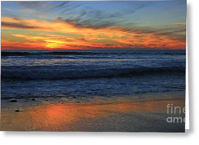 Swamis Skyburst 21x40 Inches Greeting Card