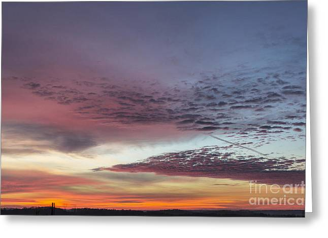 End Of 2012 Sunrise Greeting Card