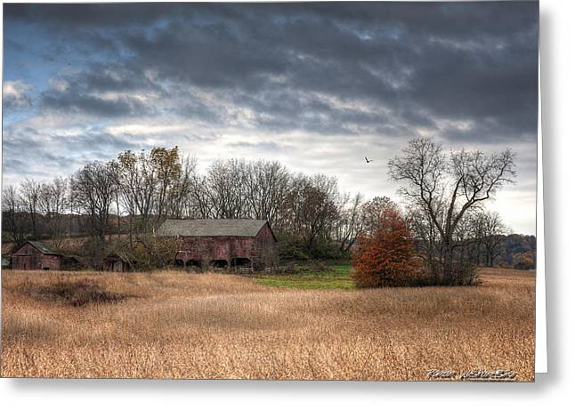 End Of Fall - Ohio IIi Greeting Card
