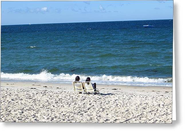 End Of Summer - Cape Cod Greeting Card