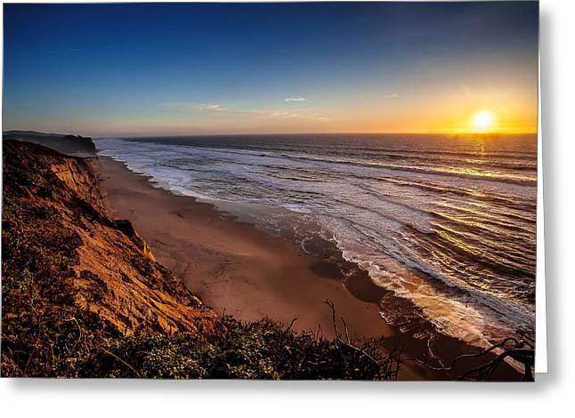 Greeting Card featuring the photograph End Of The Day by Steven Reed
