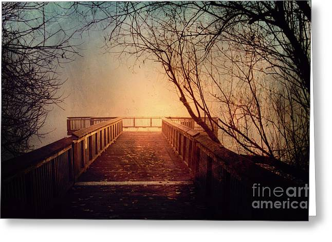 End Of The Dock Greeting Card