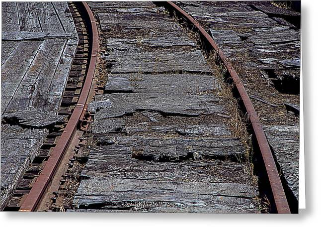 End Of The Line Greeting Card by Garry Gay