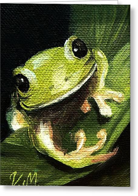 Endangered Tree Frog Greeting Card