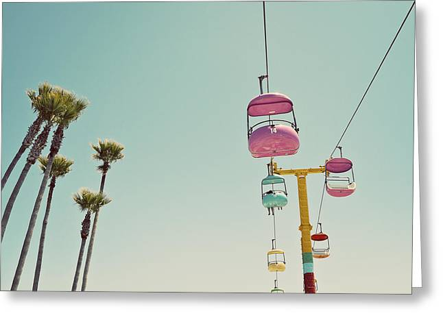 Endless Summer - Santa Cruz, California Greeting Card