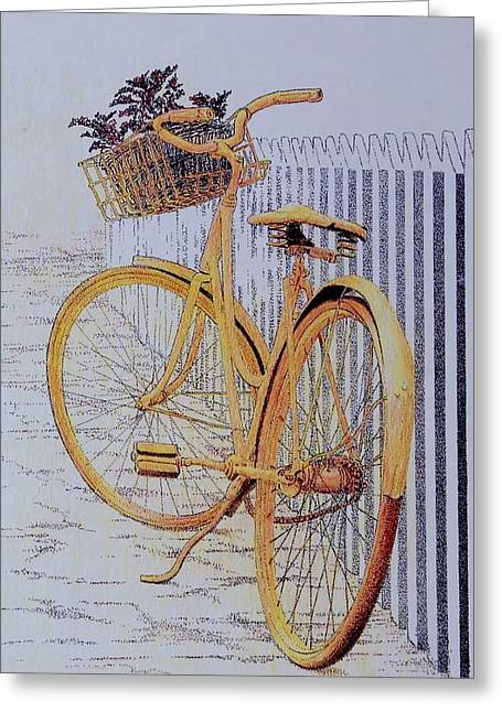 Endless Summer Greeting Card by Tony Ruggiero