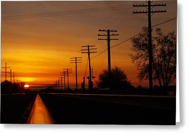 Energy Greeting Card by Tom Druin
