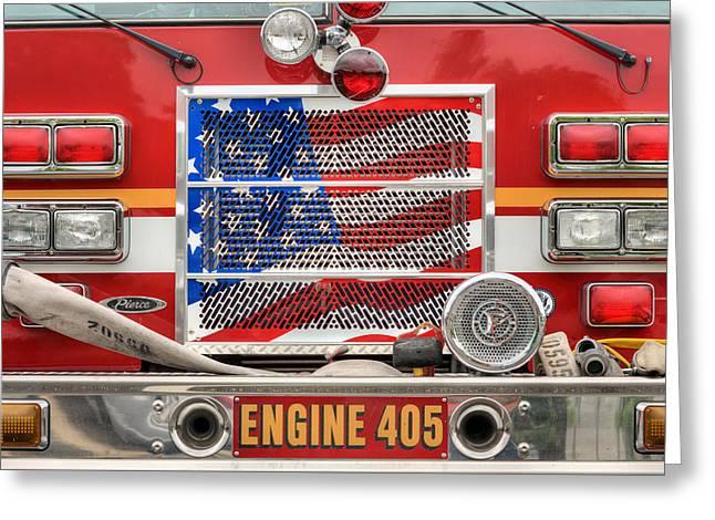 Engine 405 Greeting Card
