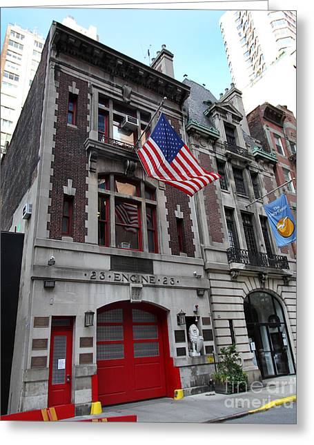 Engine Company 23 Fdny Greeting Card by Steven Spak