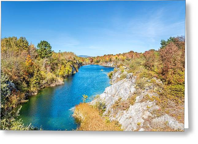 Engine Quarry In Rockland Greeting Card by Tim Sullivan