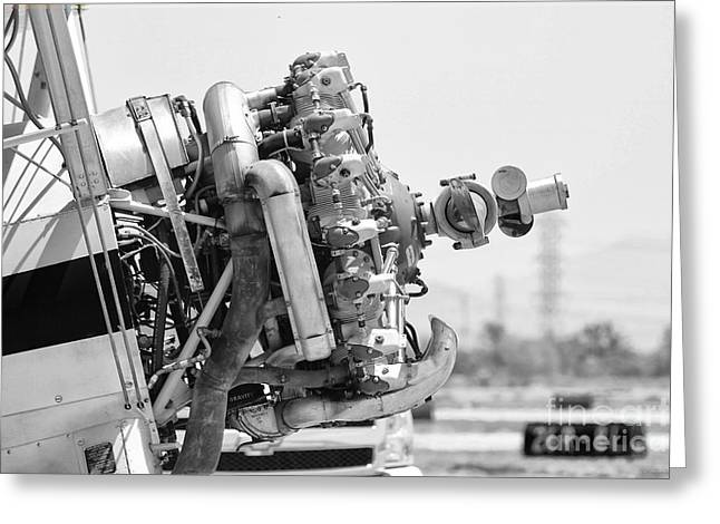 Engines Ready Greeting Card by Mkaz Photography