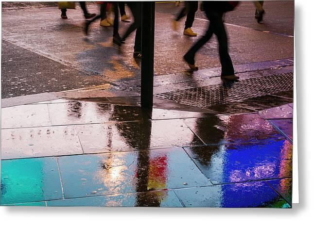 England, London, Soho, Piccadilly Greeting Card