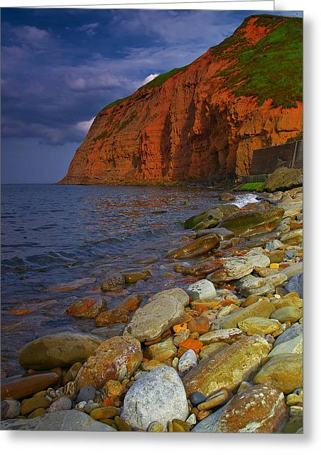 English Coastline Greeting Card