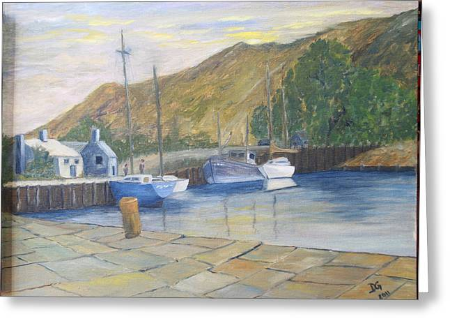 English Harbour Greeting Card