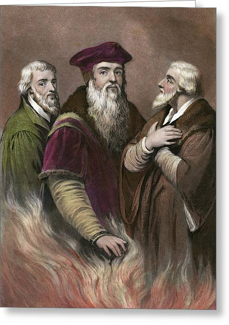 English Reformers Greeting Card