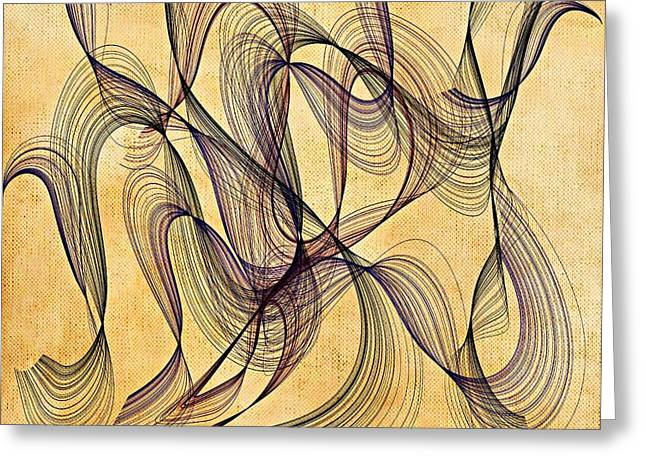 Enigma Greeting Card by Marian Palucci-Lonzetta