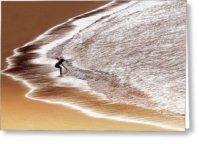 Enjoy Seawater Greeting Card