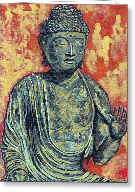 Enlightenment Greeting Card by Tom Roderick
