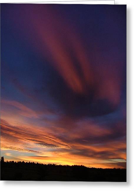 Ennis Sunrise Greeting Card