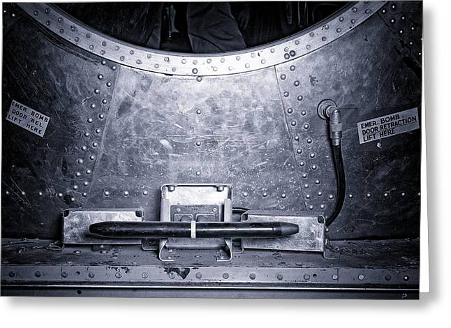 Enola Gay Bomb Bay Greeting Card by Brady Barrineau