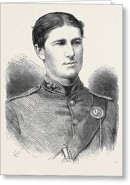 Ensign Humphry Cambridge University Rifle Corps Winner Greeting Card