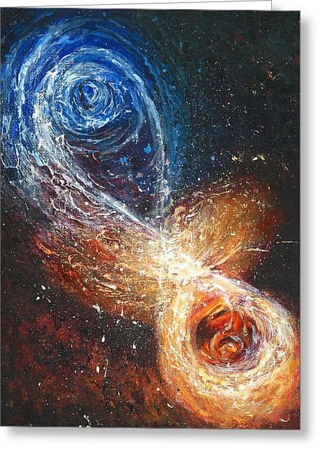 Entanglement Greeting Card by Melinda DeMent