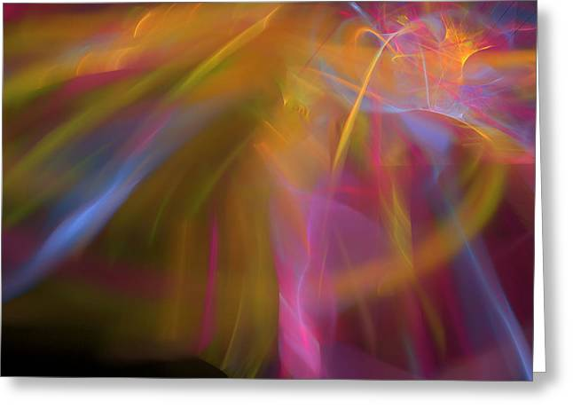 Greeting Card featuring the digital art Enter by Margie Chapman