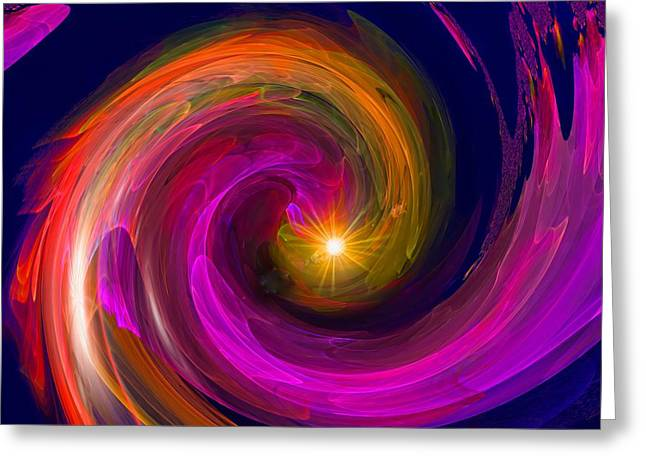 Entering Inner Space Greeting Card