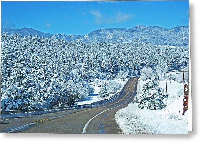 Entrance To Beulah Greeting Card by Tammy Sutherland