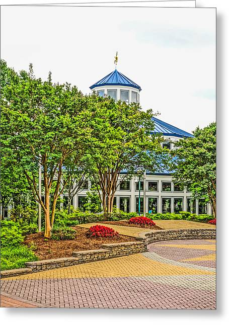 Entrance To Coolidge Park Greeting Card by Tom and Pat Cory