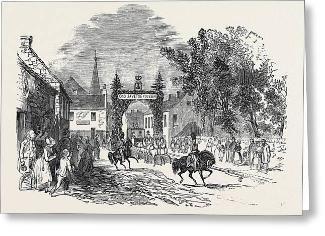 Entrance To Coupar Angus Greeting Card by Scottish School