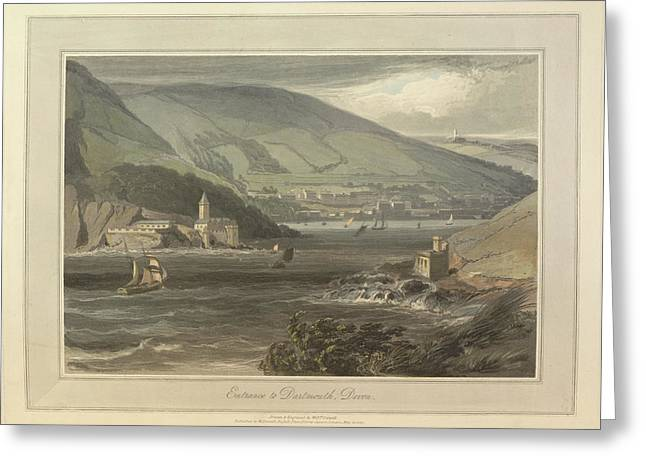 Entrance To Dartmouth Greeting Card