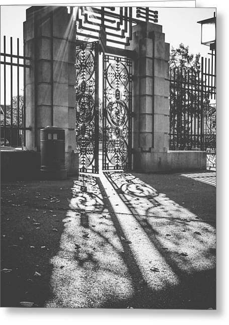 Entrance To Eternity   Greeting Card by Aldona Pivoriene