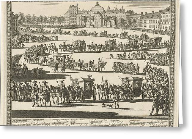 Entry Of King William IIi, The Hague, The Netherlands Greeting Card