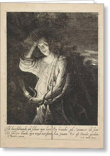 Envy, Jean De Weert Greeting Card by Artokoloro