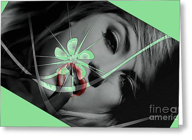 Envy Greeting Card by Tbone Oliver