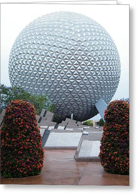 Epcot Globe Greeting Card