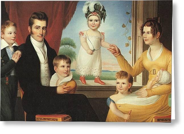 Ephraim Hubbard Family Greeting Card