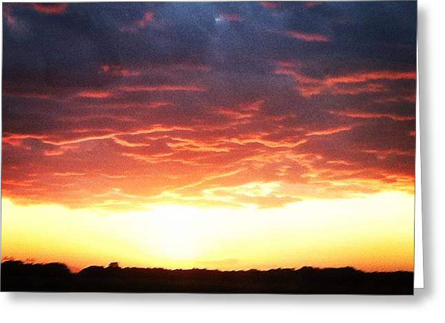 Epic Sunset  Greeting Card by Jake Harral