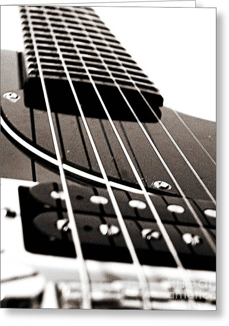 Epiphone 1 Greeting Card by Emily Kelley