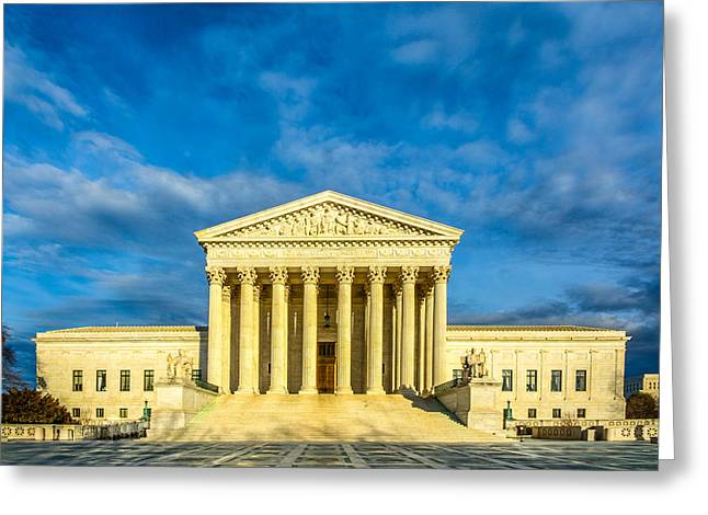 Equal Justice Under Law Greeting Card