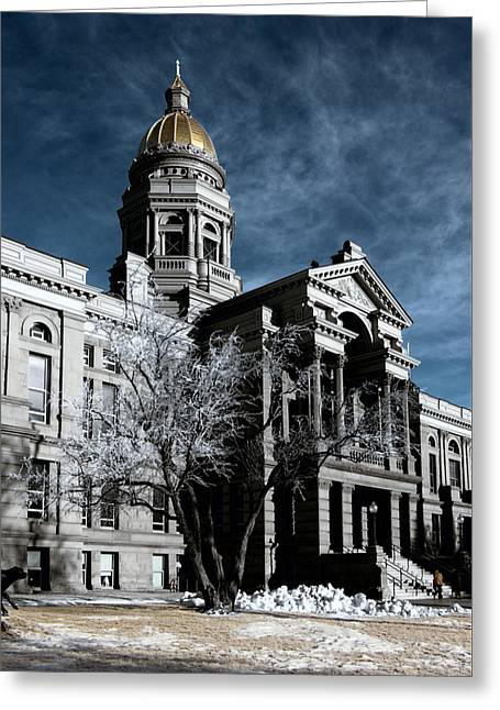 Equality State Dome Greeting Card
