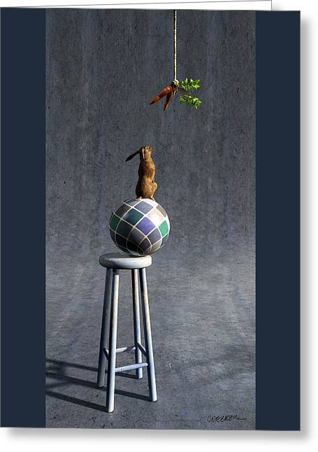 Equilibrium II Greeting Card