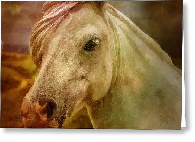Equine Fantasy Greeting Card by EricaMaxine  Price